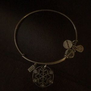 Alex and Ani 2015 snowflake bracelet